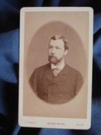 Photo CDV Chambay à Paris - Portrait Homme Léon Ferté Circa 1880 L448A - Anciennes (Av. 1900)