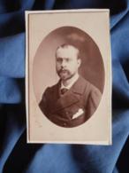 Photo CDV Reutlinger à Paris - Portrait Homme,  Paul Porthmann (1858-1910) Datée 24 Mars 1879 L448A - Oud (voor 1900)
