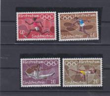 Liechtenstein  1972 Olympic Games München 4 Stamps MNH/** (H54) - Ete 1972: Munich