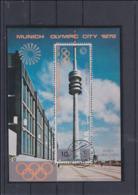 YAR   1972 Olympic Games München Souvenir Sheet Used (H54) - Ete 1972: Munich