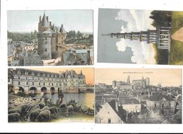 11189 - Lot De 500 CPA D'INDRE Et LOIRE - 500 Cartoline Min.