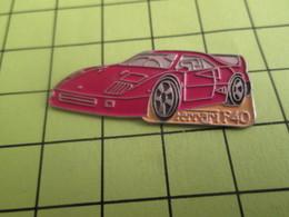 1415c Pins Pin's / Rare & TB état / THEME : AUTOMOBILES / Grand Pin's FERRARI F40 - Ferrari