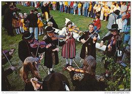Dalarna / Schweden / Tracht / Folklore / Spelmän / Geige / Violine / Musik (D-A166) - Sweden