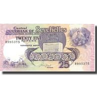 Billet, Seychelles, 25 Rupees, Undated (1989), KM:33, NEUF - Seychelles