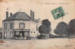 TOURY - Place De La Gare - état - Autres Communes