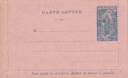MOYEN-CONGO   ENTIER POSTAL/GANZSACHE/POSTAL STATIONERY CARTE-LETTRE - French Congo (1891-1960)