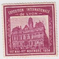 VIGNETTE EXPOSITION INTERNATIONALE  LYON 1914 - Unclassified