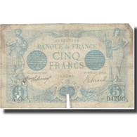 France, 5 Francs, Bleu, 1916, 1916-06-22, B, Fayette:2.40, KM:70 - 1871-1952 Circulated During XXth