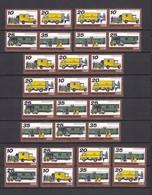 DDR - 1978 - Michel Nr. W Zd 362/69 + S Zd 149/56 - Postfrisch - 45 Euro - DDR