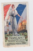 VIGNETTE  1914 - Commemorative Labels