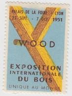 VIGNETTE  LYON 1951 - Commemorative Labels