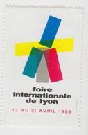 VIGNETTE  LYON 1958 - Commemorative Labels