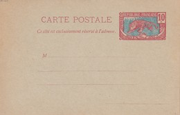 MOYEN-CONGO   ENTIER POSTAL/GANZSACHE/POSTAL STATIONERY CARTE - French Congo (1891-1960)