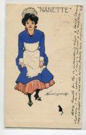 ILLUSTRATEUR Howard SOMERVILLE  La Domestique NANETTE Et La Petite Souris   1905 écrite Timb  D11 2019 - Ilustradores & Fotógrafos