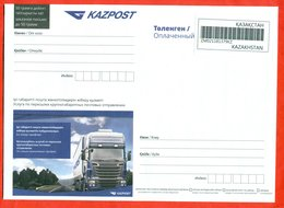 Kazakhstan 2019.  Envelope New. Each Envelope Has Its Own Individual Number. Truck. NEW!!!! - Kazakhstan