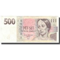Billet, République Tchèque, 500 Korun, 1997, 1997, KM:20, TTB - Tchéquie