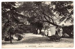PONTOISE (95) - Jardin De L' Hotel De Ville - Ed. E. L. D. - Pontoise
