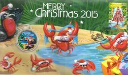 AUSTRALIA $1 CHRISTMAS SANTA FRONT QEII HEAD 1 YEAR PNC 2015 UNC NOT RELEAS READ DESCRIPTION VERY CAREFULLY !!! - Monnaie Décimale (1966-...)