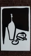 CPM EXPOSITION BARS BARS PARIS 1992 GILLES RAPAPORT PSCHITT ET POIVRON ROUGE FRANCE ILLUSTRATIONS FBG POISSONNIERE - Belle-Arti