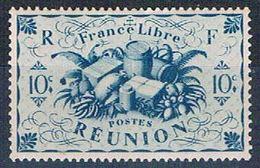 Reunion 225 MLH Produce Of Reunion 1943 (R0439)+ - Reunion Island (1852-1975)