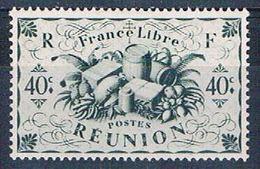 Reunion 228 MLH Produce Of Reunion 1943 (R0442)+ - Reunion Island (1852-1975)