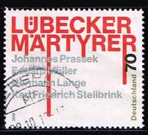Bund 2018, Michel# 3417 O Lübecker Märtyrer - [7] République Fédérale