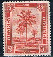 Ruanda Urundi 68 MNH Oil Palms 1942 (R0250)+ - Ruanda-Urundi
