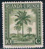 Ruanda Urundi 69 MNH Oil Palms 1942 (R0251)+ - Ruanda-Urundi