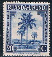 Ruanda Urundi 71 MNH Oil Palms 1942 (R0253) - Ruanda-Urundi
