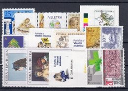 2012 (Czech Republic) Set Of 23 New Stamps MNH, 3 Minisheets - Unused Stamps