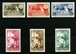 GUADELOUPE - 127 / 132 - Tricent. Des Antilles Françaises - Complet 6 Valeurs - Neufs N* - Très Beaux - Unused Stamps