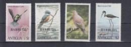 Barbuda Michel Cat.No. Mnh/** 520/523 Birds - Antigua And Barbuda (1981-...)