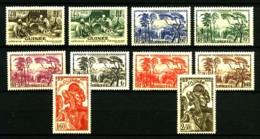 GUINEE - 158 / 168 Sauf 167 - 10 Valeurs - Neufs N* - Très Beaux - Ungebraucht