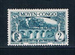 Middle Congo 66 Unused Aquaduct 1933 (M0283)+ - Congo - Brazzaville