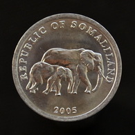 Somaliland 5 Shillings 2005. UNC Coin Km19 - Somalia