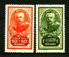 MAROC - 150 Et 151 - 2 Valeurs Maréchal Lyautey - Neufs N* - Très Beaux - Unused Stamps