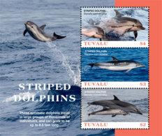 Tuvalu  2019 Fauna Striped Dolphins  I201901 - Tuvalu