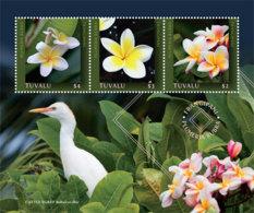 Tuvalu  2019  Plumeria Flower   I201901 - Tuvalu (fr. Elliceinseln)