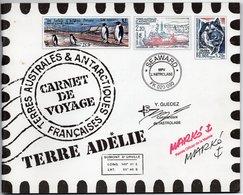 TAAF - CARNET DE VOYAGE 2001 - NEUF - TRES BEAU - - Booklets