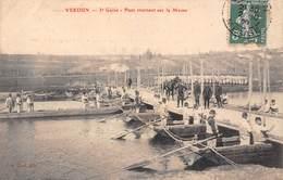 Verdun (55) - 3e Génie - Pont Tournant Sur La Meuse - Verdun
