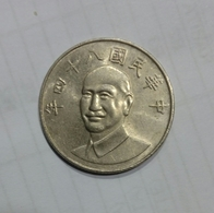 CHINA - TAIWAN - 10 YUAN - Taiwán