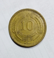 CHILE / CILE - 10 CENTIMOS (1969) - Cile