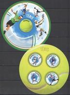 ST2632 2013 MOZAMBIQUE MOCAMBIQUE SPORT TENNIS STARS FEDERER NADAL DJOKOVIC MURRAY KB+BL MNH - Tennis