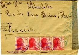 1938 CORREO CAMPAÑA 11 OBRAS Y FORTIFICACIONES     EL629 - 1931-50 Cartas