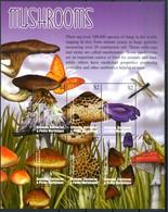 GRENADA 2002** - Funghi / Mushrooms - Block Di 6 Val. MNH, Come Da Scansione. - Funghi