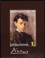 Bulgarien, 1982, 3137 Block 128,  MNH **, Pablo Picasso - Hojas Bloque