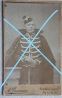 Photo ABL LANCIER Ou Chasseur à Cheval MONS Lansier ? Sabre Calot Pre 1914 Cavalerie Militaria Uniforme - Krieg, Militär