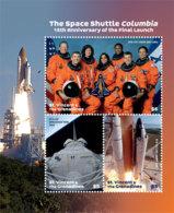 St. Vincent 2019 Space  SHUTTLE COLUMBIA I201901 - St.Vincent & Grenadines