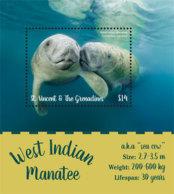 St. Vincent 2019 Fauna   West Indian Manatee I201901 - St.Vincent & Grenadines