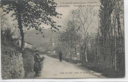 07-ARDECHE-GILHOC - Entrée Du Village - Sonstige Gemeinden